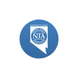 Nevada Justice Association Logo Blue